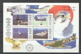 W783 GHANA TRANSPORTATION AVIATION THE ROYAL AIR FORCE BIRDS 1KB MNH - Aviones