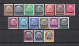 Elsass - 1940 - Michel Nr. 1/16 - Postfrisch. - 45 Euro - Besetzungen 1938-45