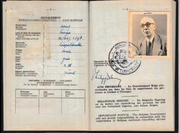 1960- PASSEPORT Pour Le CONGO BELGE - LÉOPOLDVILLE - - Documents Historiques