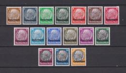 Lothringen - 1940 - Michel Nr. 1/16 - Postfrisch - 45 Euro - Ocupación 1938 – 45
