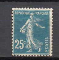 - FRANCE N° 140r Neuf ** MNH - 25 C. Bleu Semeuse Camée 1907, Type IA - PAPIER GC - Cote 14 EUR - - 1906-38 Semeuse Camée