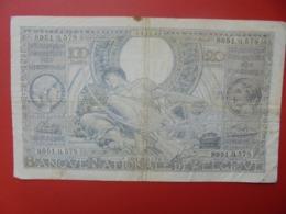 BELGIQUE 100 FRANCS 24-11-41 CIRCULER (B.7) - [ 3] Duitse Bezetting Van België
