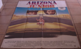 AFFICHE CINEMA ORIGINALE FILM ARIZONA JUNIOR Joel COEN Nicolas CAGE Holly HUNTER 1987 - Affiches & Posters