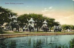 Malay Malaysia, PERAK, Birthday Procession For Sultan Idris Shah I (1910s) - Malaysia