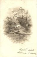 Casa In Mezzo Al Bosco E Ponticello Sul Ruscello - Landbouw