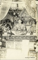 Malaysia, Wedding Tenku Abu Bakar Of Pahang & Raja Fatimah Of Perak (1925) RPPC - Malaysia
