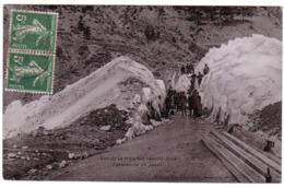 MONTGENEVRE - Tranchée Ouverte Dans L'Avalanche Du Janus - France