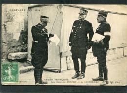 CPA - CAMPAGNE DE 1914 - Les Généraux JOFFRE Et De CASTELNAU - War 1914-18