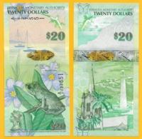 Bermuda20 Dollars P-60b 2009 UNC Banknote - Bermudes