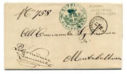 Lettera Da PORDENONE (21.7.70) A MONTEBELLUNA / Annulli (UDINE-VERONA 22.4.70 / TREVISO 22.4.70 / MONTEBELLUNA) - 1. ...-1850 Prefilatelia