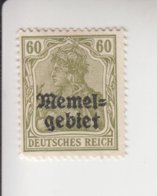 Memel Michel-cat. 16 Zonder Gom - Unclassified