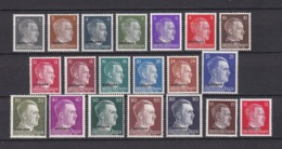 Ostland - 1941/43 - Michel Nr. 1/20 - Postfrisch - Besetzungen 1938-45