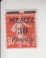 Memel Michel-cat. 59 * - Zonder Classificatie