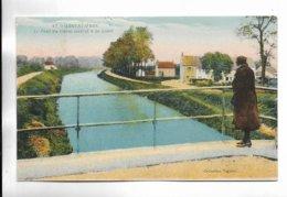 18 - ARGENVIERES - Pont Du Canal Latéral à La Loire. Carte Colorée - Francia