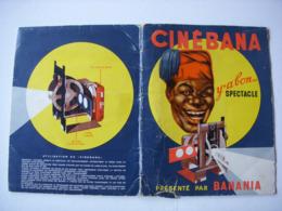 CINEBANA - CHOCOLAT BANANIA + 4 BANDES DICK PILOTE + 4 BANDES LA TIRELIRE - Chocolat