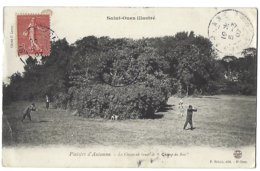 """93 - SAINT-OUEN - Plaisirs D'Automne - La Chasse Au Lieudit Le """"Champ Du Bois"""" - 1907 - Saint Ouen"""
