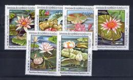 Laos. Flore. Nénuphars - Laos
