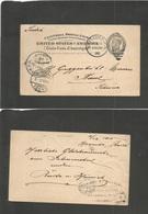 PUERTO RICO. 1905 (12 Dic) Mayagüez - Suiza, Basel (29 Dic) Entero Postal USA 2c Circulado En PR. Via San Juan. Muy Esca - Puerto Rico