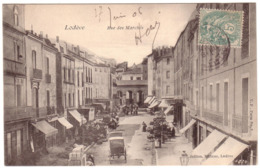 LODEVE - Rue Des Marchés - Lodeve