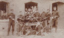 Soldat Armée Militaire Belge Leopoldsburg  Photo Carte - Documenti
