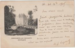 Dordogne :  GANDUMAS  , Par  Lanouaille  : Le  Château - France
