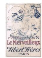 BUVARD : SAVON POUR LA BARBE LE MERVEILLEUX - VIBERT FRERES - PUBLICITE WALL - Parfums & Beauté