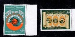 1974 SCOTT 316 317 POSTFRIS MINT NEVER HINGED EINWANDFREI (XX)  UPU UNIVERSAL POSTAL UNION CENTENAIRE - Maroc (1956-...)