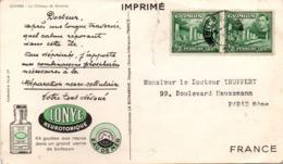 Ionyl 1956 - Cyprus Chypre Nicosia - Chateau De Kyrenia - !!! Déchirure - Cyprus (...-1960)