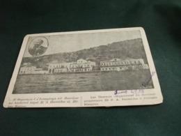 LES THERMES HIPPOCRATE DU DIRECTEUR PROPRIETAIRE DR P.A. PANTELIDES A PALOUSSE NISSYROS 1906 ANGOLI SCIUPATI RODI EGEO - Greece