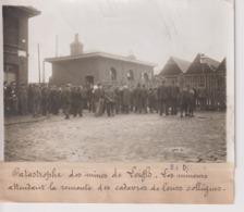 CATASTROPHE DES MINES DE LEIGH LES MINEURS MANCHESTER UNITED KINGDOM UK 18*13CM Maurice-Louis BRANGER PARÍS (1874-1950) - Profesiones