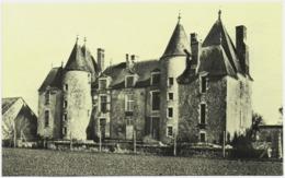 CPA DE LOIGNY-LA-BATAILLE  (EURE ET LOIR)  CHÂTEAU DE VILLEPION OU SONIS ET CHARETTE ONT ORGANISE L'ASSAUT DE LOIGNY - Loigny