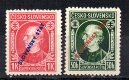 Serie Nº 30/1 Eslovaquia - Nuevos