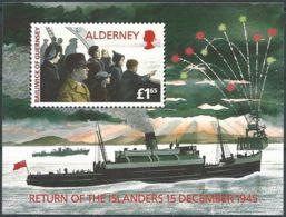 ALDERNEY 1995 Mi-Nr. Block 1 ** MNH - Alderney