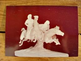 (FG.Y43) MUSEUM OF FINE ARTS, VALLETTA - ANTONIO SCIORTINO: ARAB HORSES (NV) - Sculture