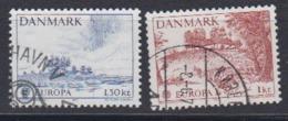 Europa Cept 1977 Denmark 2v Used (44667A) - 1977