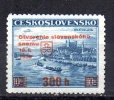 Sello  Nº 35A   Eslovaquia - Nuevos