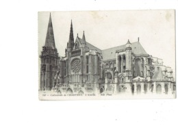 CPA - 28 - Chartres - Cathédrale L'abside - Travaux échafaudage - 762  ND - - Chartres