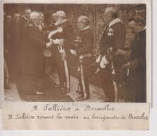 FALLIÈRES A BRUXELLES BOURGMESTRE DE BRUXELLES BELGIQUE BELGIUM  18*13CM Maurice-Louis BRANGER PARÍS (1874-1950) - Personalidades Famosas