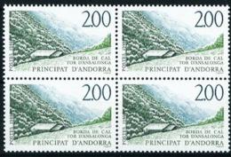 Andorra Francesa Nº 372 (bloque-4) Nuevo Cat.5,20€ - French Andorra
