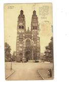 Cpa - 37 - Tours - Cathédrale Travaux échafaudage - -A.B. 4 - - Tours