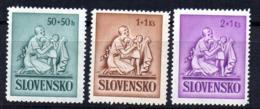 Serie  Nº 61/3   Eslovaquia - Nuevos