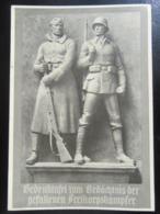 Postkarte Propaganda Freikorps Denkmal - Briefe U. Dokumente