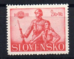 Sello  Nº 66   Eslovaquia - Nuevos