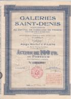 Alb 4) Actions & Titres > Galeries  Saint-Denis 1930N=8 - Andere