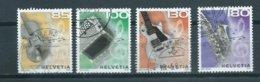 2008 Switzerland Complete Set Music Used/gebruikt/oblitere - Used Stamps
