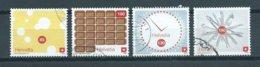 2008 Switzerland Complete Set Art,kunst Used/gebruikt/oblitere - Used Stamps