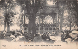 ¤¤   -   LILLE  -  Square Vauban  -  Concert Par Le 43e D'Infanterie   -   ¤¤ - Lille
