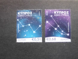 Zypern     Astronomie   Europa Cept    2009  ** - Europa-CEPT