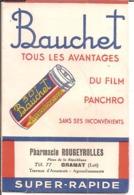 Lot - Gramat. Pharmacie ROUGEYROLLES, Place De La République... Sur Pochette-photo. Film Panchro Bauchet... - Reclame