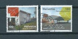 2009 Switzerland Complete Set Architecture Used/gebruikt/oblitere - Zwitserland